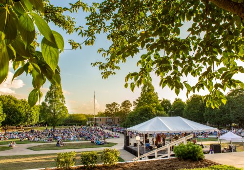 Overview of Concerts on the Quad