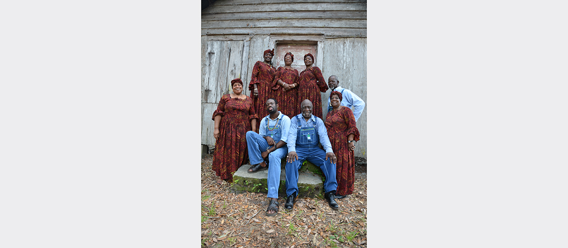 The McIntosh County Shouters, Photo by Dan Sheehy, Smithsonian Institution