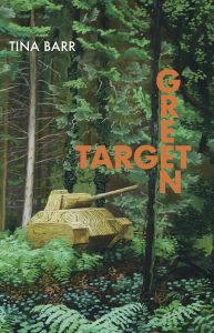 Book cover for Green Target shows a tank in the woods