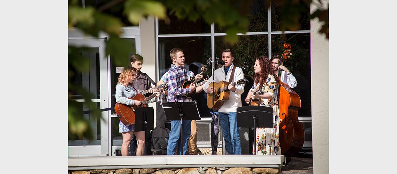 The UNC Asheville Bluegrass Ensemble