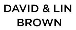 David & Lin Brown wordmark