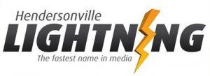 Hendersonville Lightning Logo