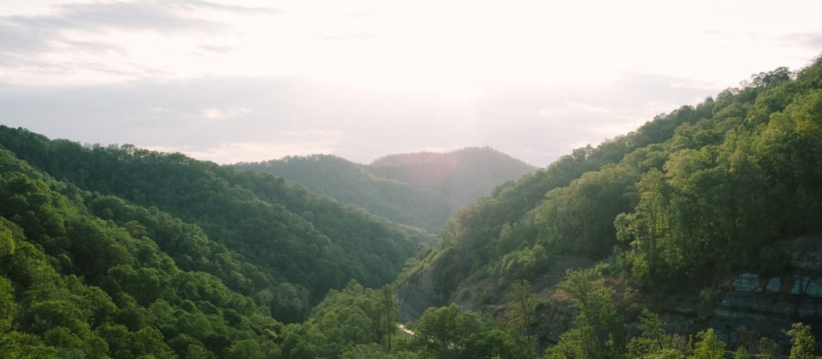 Roger May's photo of the mountains of Mingo County, West Virginia