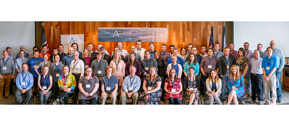 alumni of the Atmospheric Sciences Department at UNC Asheville
