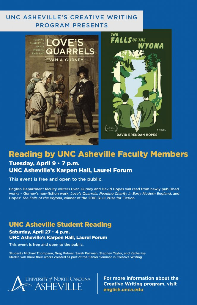 UNC Asheville's writing program offers spring classes