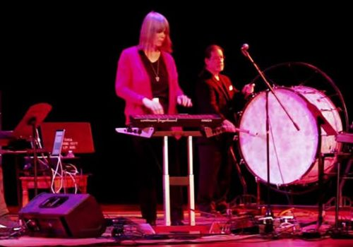 Electronic musicians shown performing at ContinuuCon 2018