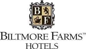 Biltmore Farms Hotel logo has coat of arms