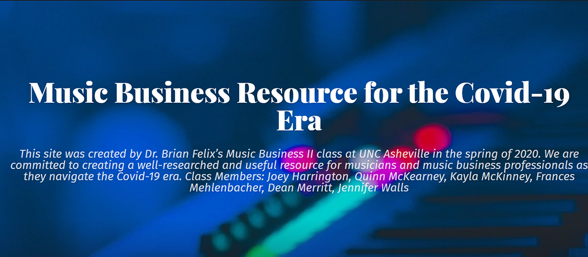 Graphic from the music business resource website