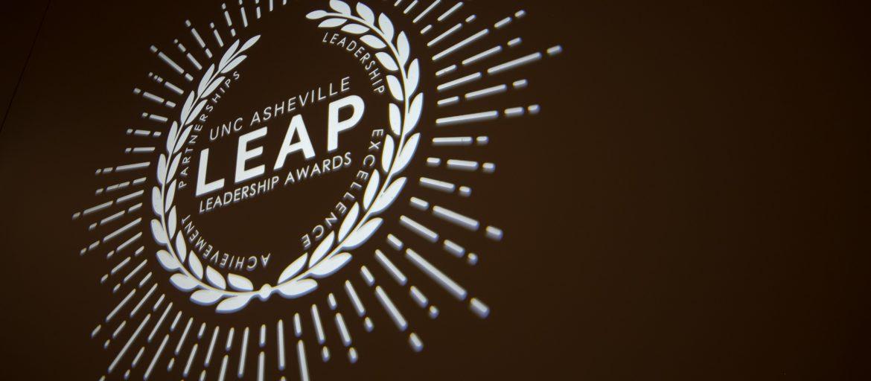 LEAP awards light logo
