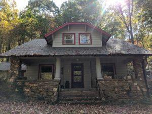Wilma Dykeman house exterior, October, 2020