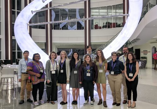 UNC Asheville Honors Program students at the NC Honors Association Conference
