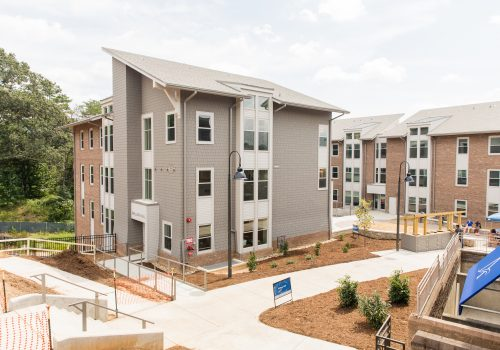 The Woods apartments exteriors