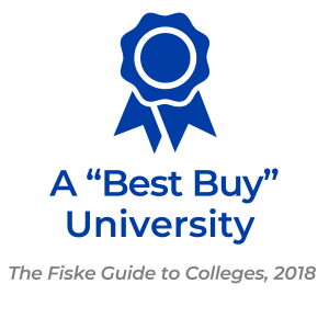 """A Best Buy"" University by the Fiske Guide to Colleges, 2018"
