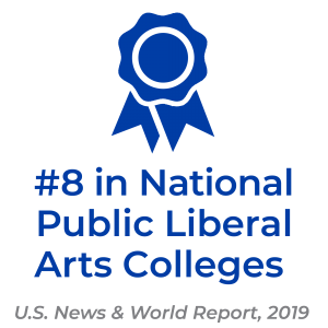 UNC Asheville is ranked #8 in National Public Liberal Arts Colleges by U.S. News and World Report