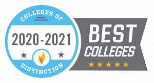 Colleges of Distinction 2020-2021